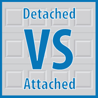 Detached vs Attached Garages