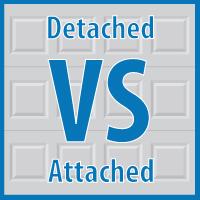Detached vs Attached Garages
