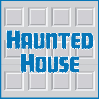 Haunted House in Garage