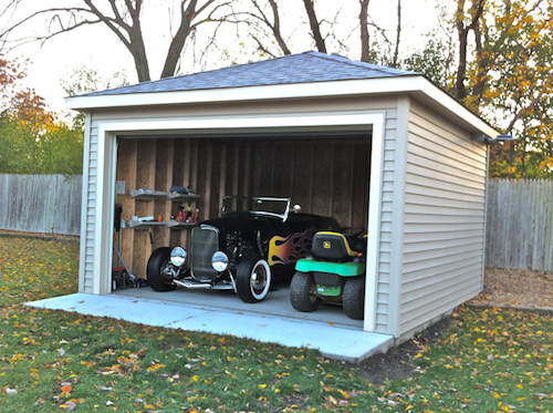 New Garage Glen Ellyn