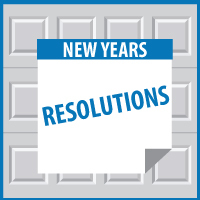 Garage New Years Resolutions