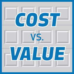 Garage Door Cost vs Value