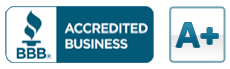 Better Business Bureau BBB Accredited A+plus
