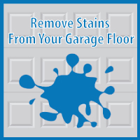 Remove Garage Floor Stains