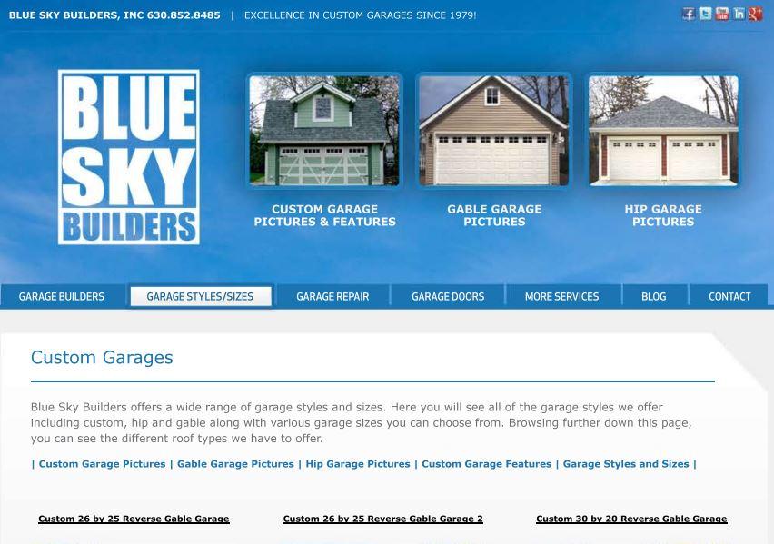 Blue Sky Builders 2012