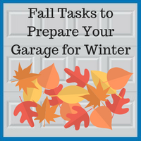 Blue Sky Builders garage checklist for fall