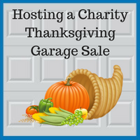 Blue Sky Builders Thanksgiving Garage Sale