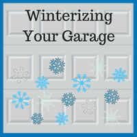 Blue Sky Builders preparing your garage for winter