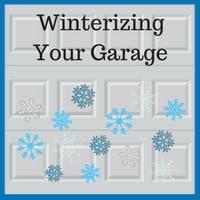 Blue Sky Builders preparing your garage for winter