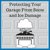 Blue Sky Builders protecting your garage from winter damage