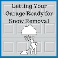 Blue Sky Builders garage snow removal