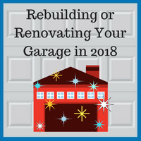 Blue Sky Builders Garage Renovation