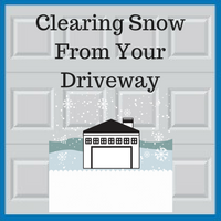 Blue Sky Builders snow shovel and snow blower tips