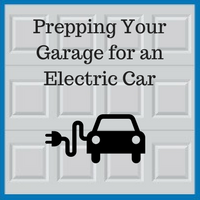Blue Sky Builders electric car charging garage