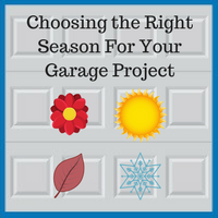Best seasons for a garage renovation or rebuild project