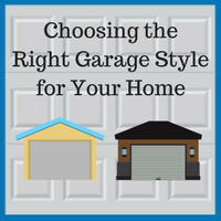 Blue Sky Builders garage style hip garage gable garage