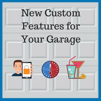 Blue Sky Builders custom garage features and technology