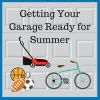 Blue Sky Builders summer garage preparation