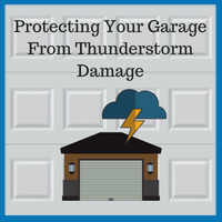 Blue Sky Builders garage severe weather protection