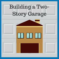 Blue Sky Builders two-story garage