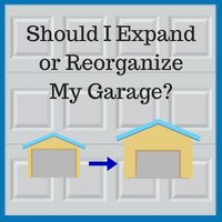 Blue Sky Builders expand or reorganize garage