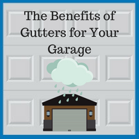 Blue Sky Builders garage gutter maintenance