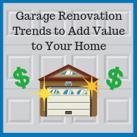 Blue Sky Builders garage renovation increasing home value
