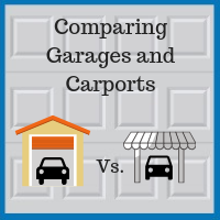 Blue Sky Builders garages vs. carports