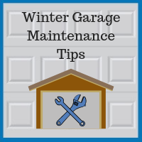 Blue Sky Builders winter garage door maintenance