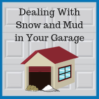 Blue Sky Builders garage snow mud solutions