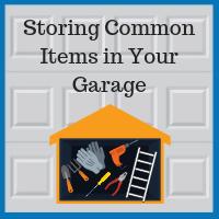 Blue Sky Builders garage storage ladders tools