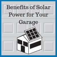 Blue Sky Builders garage roof solar power