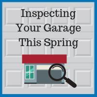 Blue Sky Builders garage inspection floor roof door walls windows