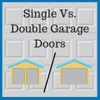 Blue Sky Builders single vs. double garage doors