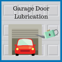 Blue Sky Builders garage door lubrication