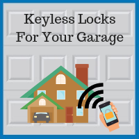 Blue Sky Builders garage keyless lock