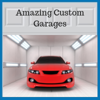 Blue Sky Builders custom garage examples