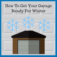 Blue Sky Builders garage winterization