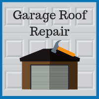 Blue Sky Builders garage roof replacement