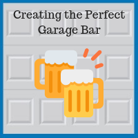 Blue Sky Builders garage bar renovation