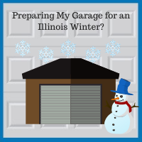 Blue Sky Builders garage winter preparation