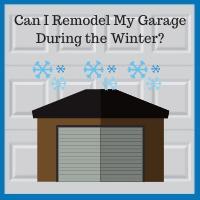 Blue Sky Builders winter garage renovation