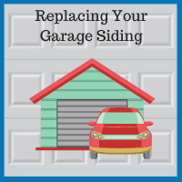 Blue Sky Builders garage siding replacement