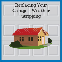 Blue Sky Builders garage door seal replacement