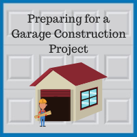 Blue Sky Builders garage renovation preparation