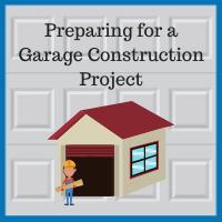 Blue Sky Builders garage renovation preparation