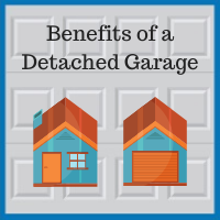 Blue Sky Builders detached garage benefits