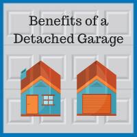 Blue Sky Builders detached garage benefits