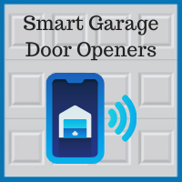 Blue Sky Builders garage door opener smart home