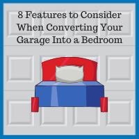 Downers Grove garage renovation experts bedroom features